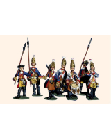 Willie Box 028 - DWP2 Line Grenadiers Command lapels and Prussian cuffs Kit