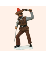 AC12A Peasant Partisan Painted