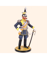 AC90 01 Prinz Karl of Prussia Colonel 15 Uhlans Painted