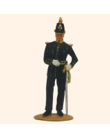 AL54 09 T.S. Officer Infantry Painted