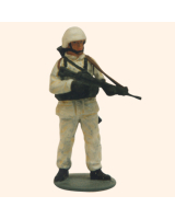 AL54 12 T.S. Private in Battle Dress winter Painted