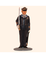 AL54 28 T.S. Officer Navy Full dress Painted