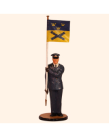 AL90 31 T.S. Officer with CO sign M1987 Painted