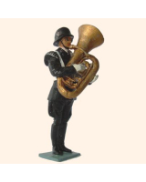 SS04 T.S. Tuba Player Painted