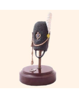 Hj7 T.S. Helmet Swedish Foot Guard Grenadier Cap Painted