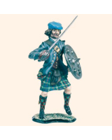JR 1B Highlander in Kilt The Jacobite Rebellion 1745 Kit