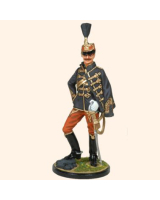 JW90 165 Hussar Officer The Austro Hungarian Army c. 1900 -1914 Painted