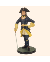 JW90 S16 T.S. Officer Infantry Painted