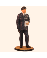 JW90 S30 T.S. Officer Army, with beret Painted