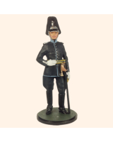 JW90 S07 T.S. Officer Logistic Troops Painted
