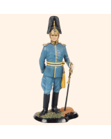JW90 S08 T.S. Officer Fortification Engineers Painted