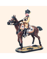 M54 36 Officer Cuirassier Regiment No. 4 Painted