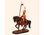 M54 55 Trooper 2nd Dutch Red Lancers of the Guard Painted