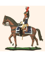 M90 01 French Cuirassier Officer 1812-1815 Painted
