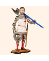 MED 17 English Man at Arms Painted