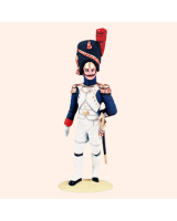 NF 03A Officer French Line Infantry Full Dress 1807-1812 Painted
