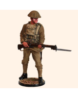 RC110 16 British Infantryman 1916 First World War Painted