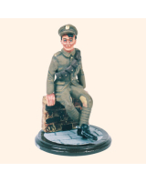 SQN54 023 Trooper British Line Cavalry Painted