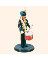 SQN54 030 Sergeant Drummer Queens Own Hussars Painted