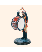 SQN54 057 Bass Drummer The Parachute Regiment 1985 Painted