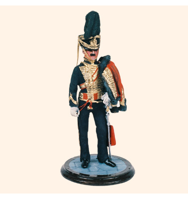 SQN54 073 Officer 8th Hussars Painted