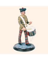 SQN54 083 Drummer Royal Scots Dragoon Guards Painted