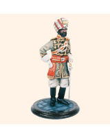 SQN54 088 Officer Bahawalpur State Force Painted