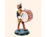 SQN54 102 Bass Drummer The Royal Hussars 1985 Kit
