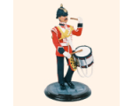 SQN54 104 Side Drummer 2nd Battalion Kings Regiment 1985 Kit