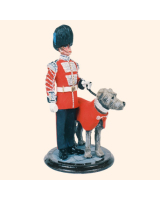 SQN54 167 Mascot and Handler Irish Guards 1987 Kit