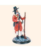 SQN54 178 Musketeer The English Civil War 1643 Painted