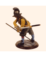 SQN54 179 Pike man Yellow Coat Regiment Painted