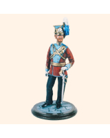 SQN54 191 Officer East Riding of Yorkshire Yeomanry Painted