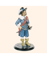 SQN54 225 Officer Kings Lifeguard of Foot Painted