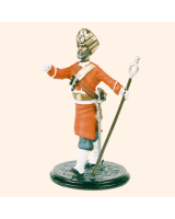 SQN54 237 Drum Major 45th Rattrays Sikhs Painted