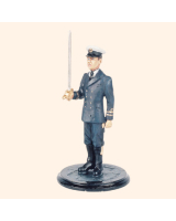 SQN54 241 Officer Royal Navy World War 2 Painted