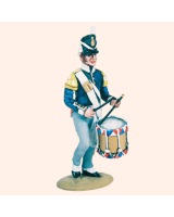 T54 120 Drummer The Dutch Belgian Army 1815 Kit