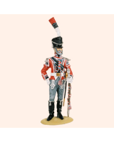 T54 275 Drum Major Holstenske Infantry Regiment Painted