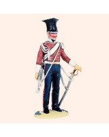T54 046 Trumpeter Marching Order Lancers of the Imperial Garde 1807-1814 Painted