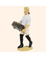 T54 487 Private carrying box Working Party The Prussian Army 1756 Painted