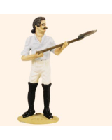 T54 489 Private with shovel Working Party The Prussian Army 1756 Painted