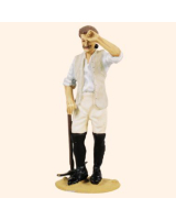 T54 493 Private with pick Working Party The Prussian Army 1756 Painted
