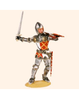 T54 544 Medieval Knight Late 14th Century Painted