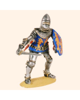 T54 545 Medieval Knight Early 15th Century Painted