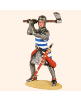 T54 546 Medieval Knight Early 14th Century Painted