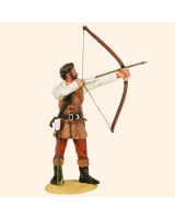 T54 547 English Archer Mid 14th Century Painted