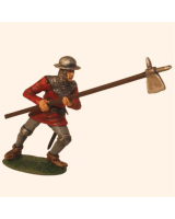 T54 548 Infantryman Mid 14th Century Painted
