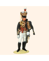 T54 599 Officer 10th Hussars 1812-1815 Painted