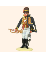 T54 606 Trumpeter 7th Hussars 1812-1815 Painted