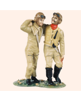 TG54 03 Luftwaffe Officer and N.C.O. Painted